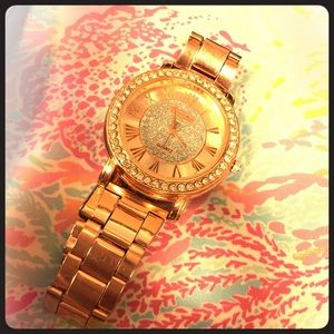 Rose Gold Boutique Purchased Watch